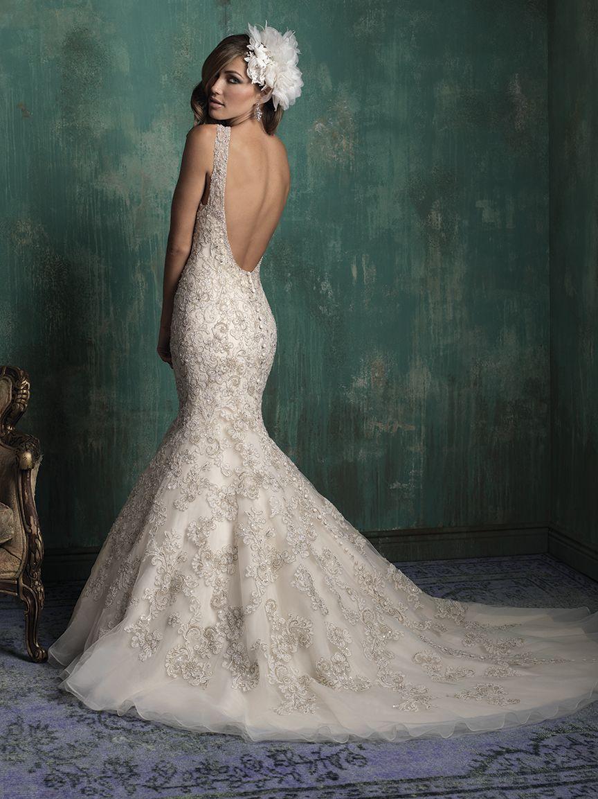 Allure Bridals Available At Lulu S Bridal Boutique Dallas Texas Salon Wedding Dresses