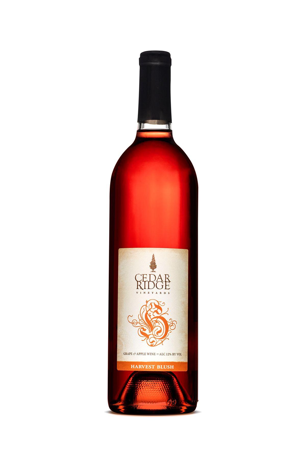 Cedar Ridge Vineyards Winery And Distillery Wine Bottle And Label Package Design In 2020 Wine Bottle Wine Bottle Labels Distillery