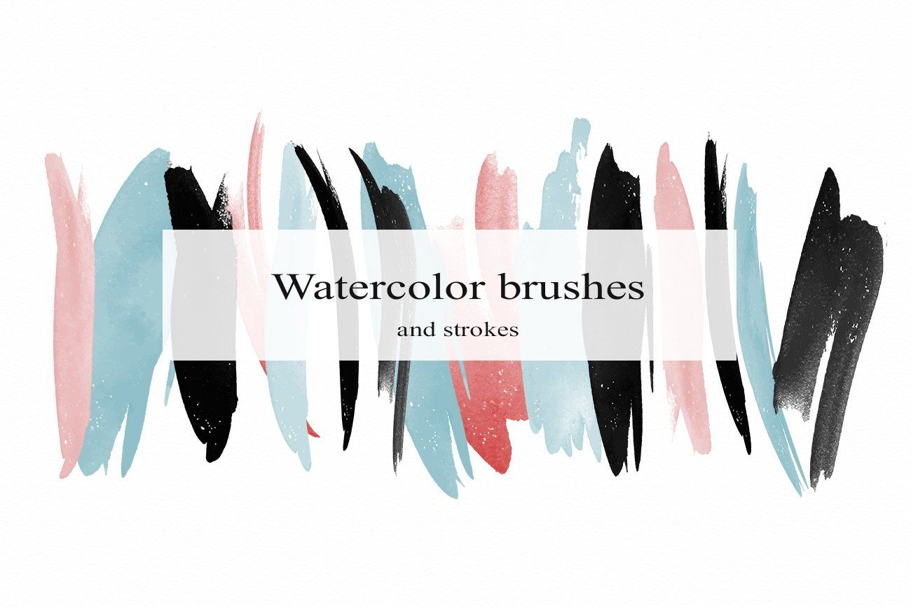 Watercolor Vector Brushes Sponsored Lifestyle Scrapbooking