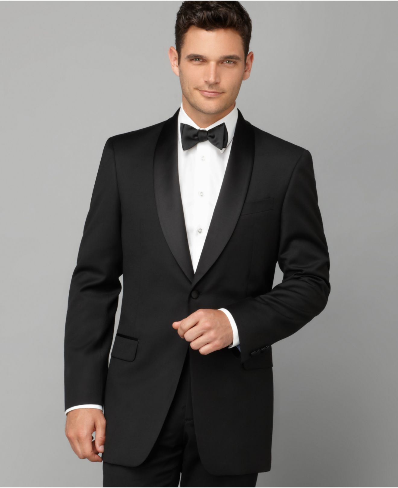 Tommy Hilfiger | Black Shawl Collar Classic-fit Tuxedo Jacket for Men | Lyst