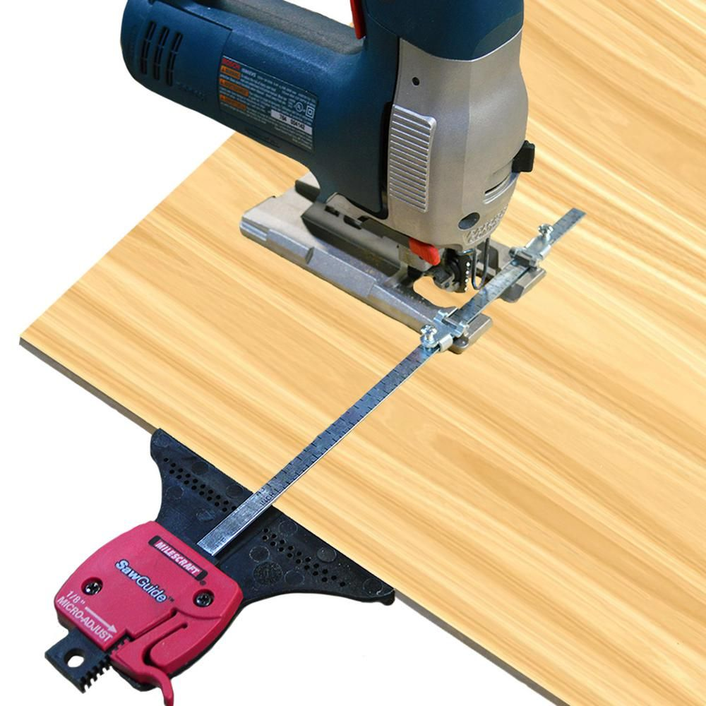 Milescraft Sawguide For Circular Saws And Jig Saws 1400 The Home Depot Jig Saws Circular Circular Saws