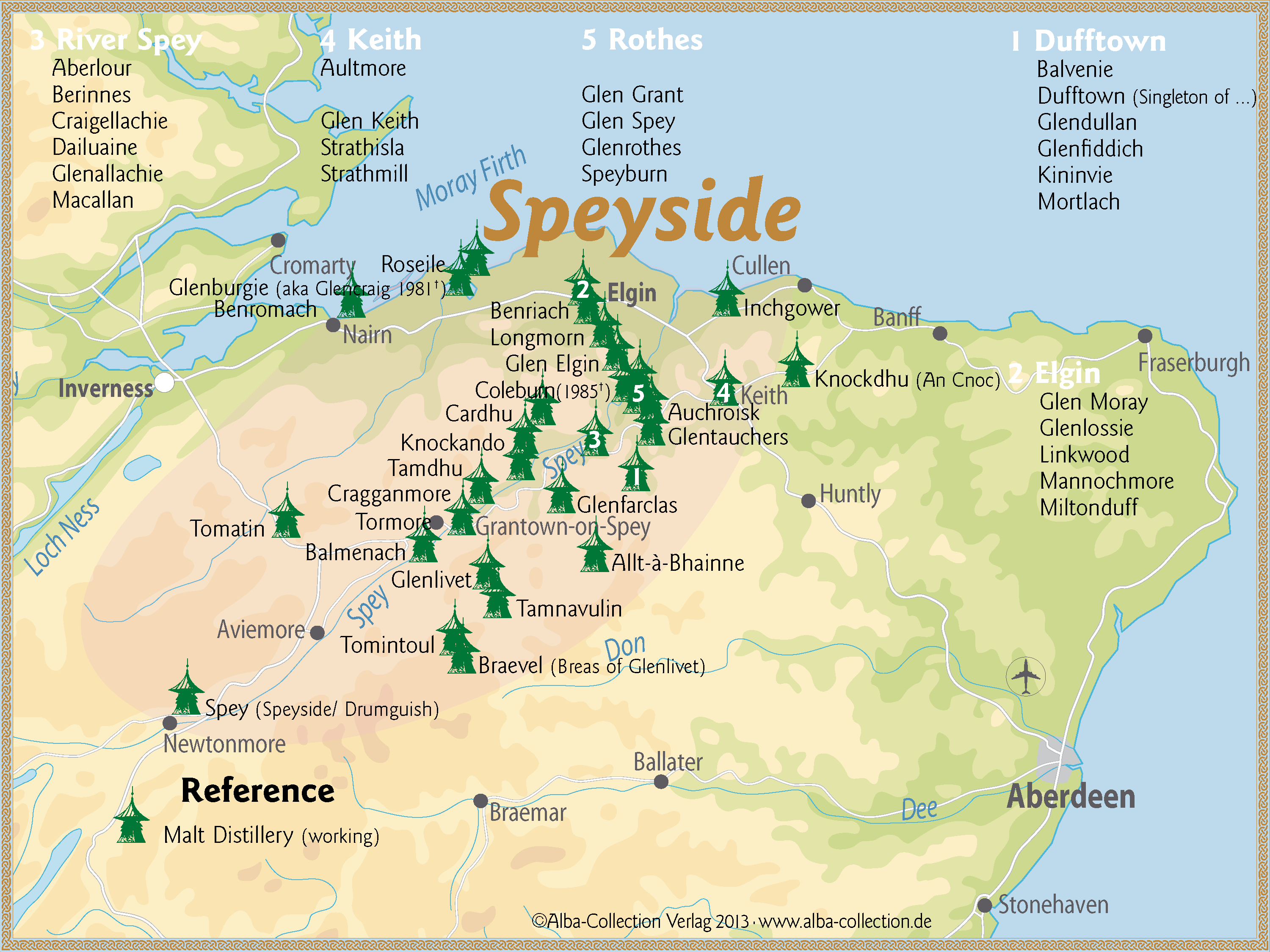 Image result for speyside region