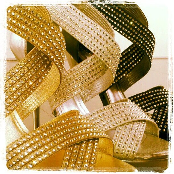 Sneak Peek from @Luichiny - Sparkle Strappy Sandals