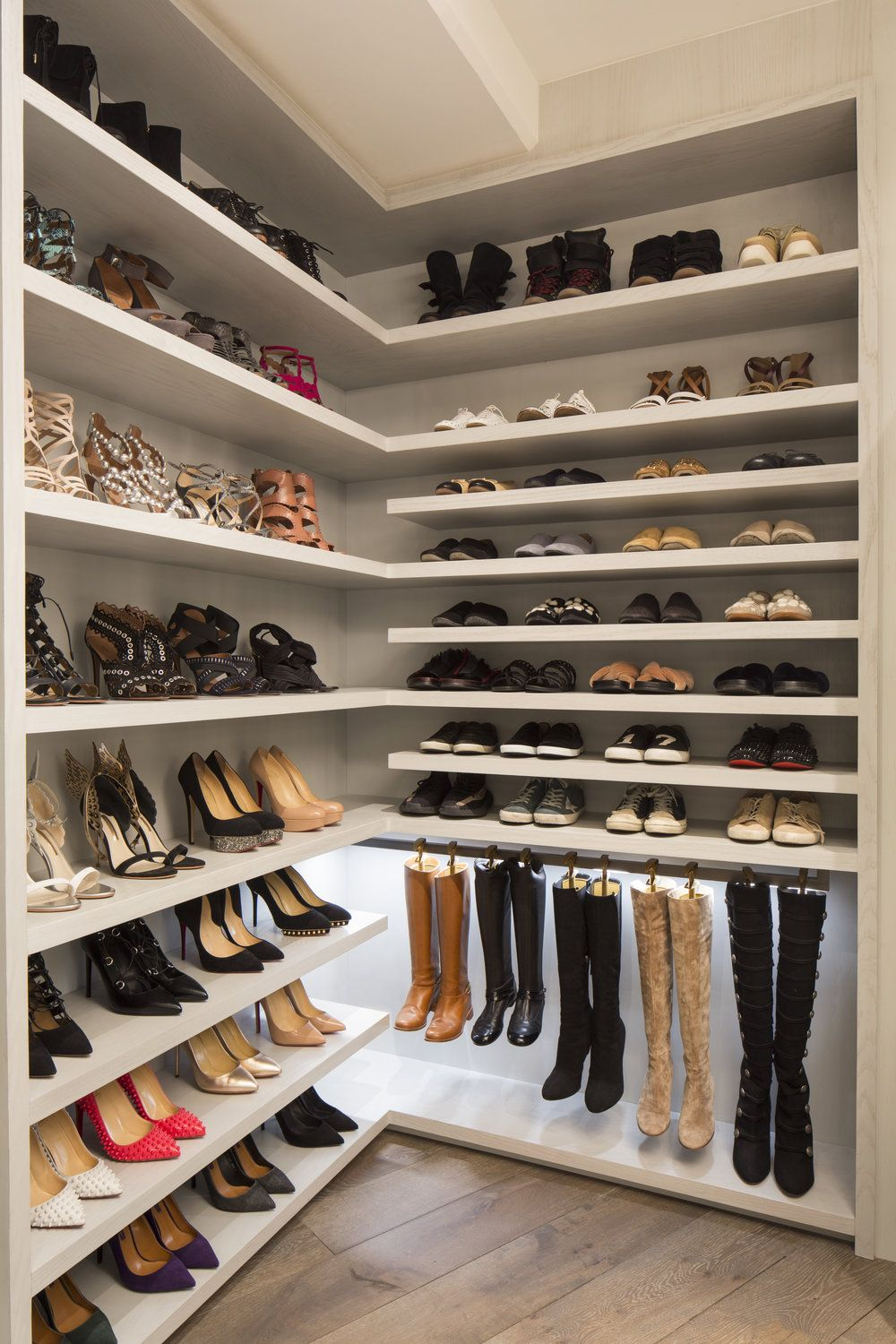 Pin by Andie Prier on HouseWhere's | Closet shoe storage