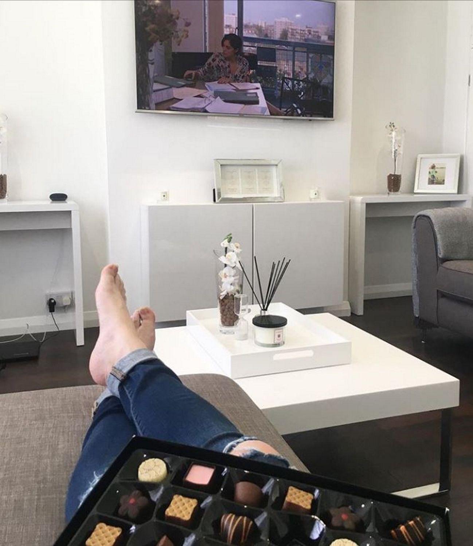 Instagram Mrs Kmitch High Gloss Square White Coffee Table Tiffany Range Tiff002 Coffee Table White Coffee Table Furniture 123