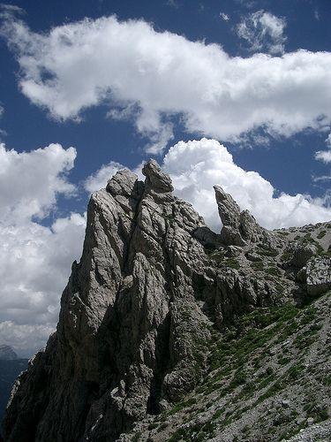 ) Salita al Coldai Dolomites, Veneto, Italy Belluno