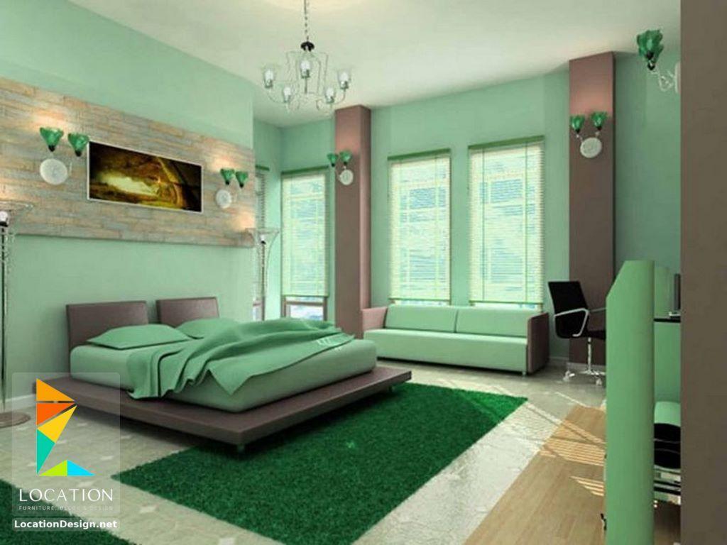 دهانات غرف نوم أطفال باللون الأخضر Green Master Bedroom Green Bedroom Walls Bedroom Green
