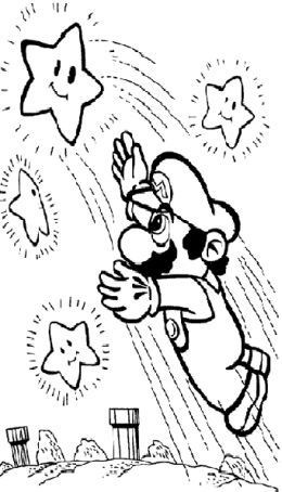 new super mario bros kids coloring pages free colouring