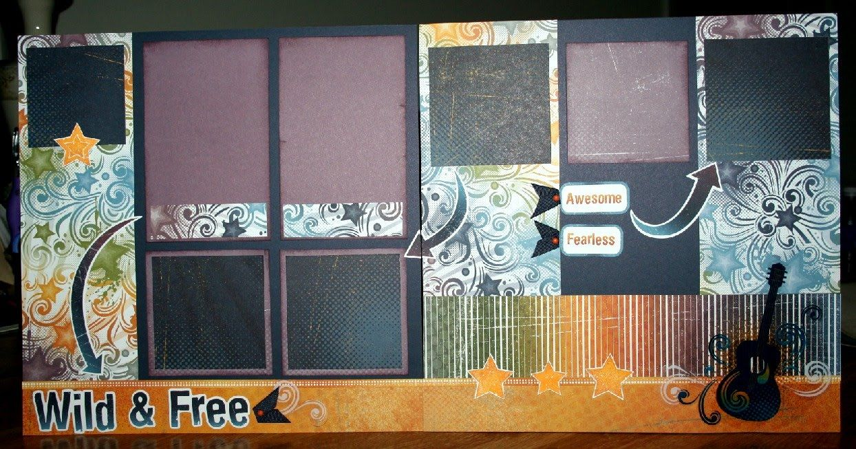 layout by Tina Lovell using CTMH You Rock paper