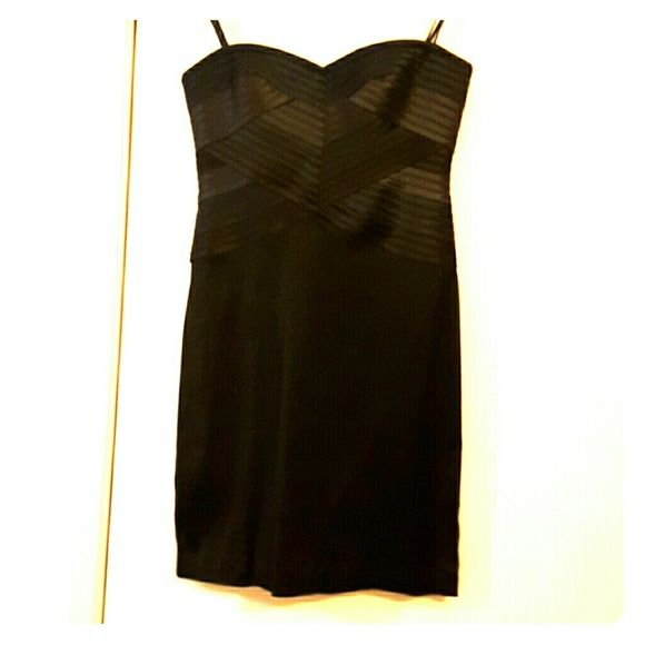 BCBGMAXAZRIA Strapless smoke color cocktail dress BCBGMaxAzria Dresses Mini
