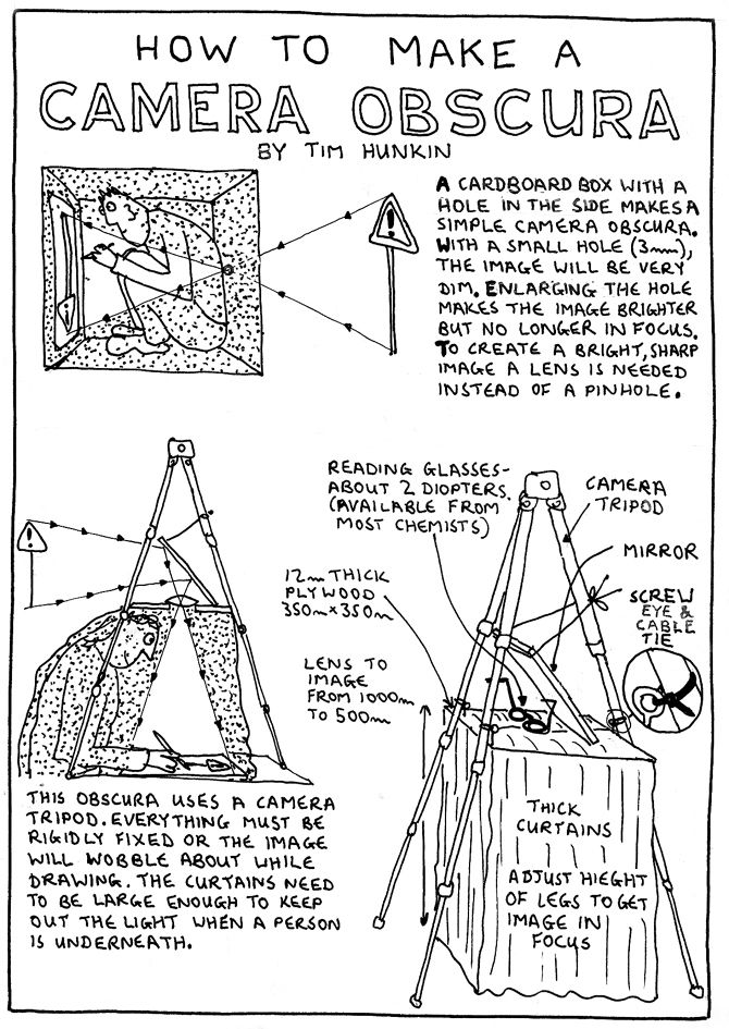 how to make camera obscura