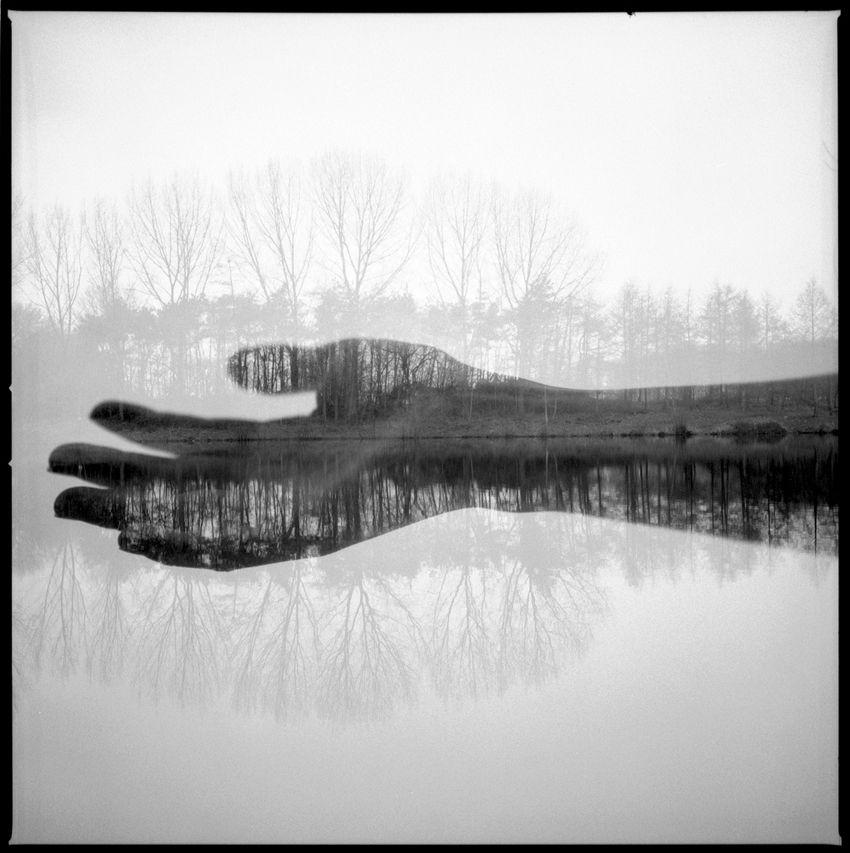 Black white photography · double exposure photography
