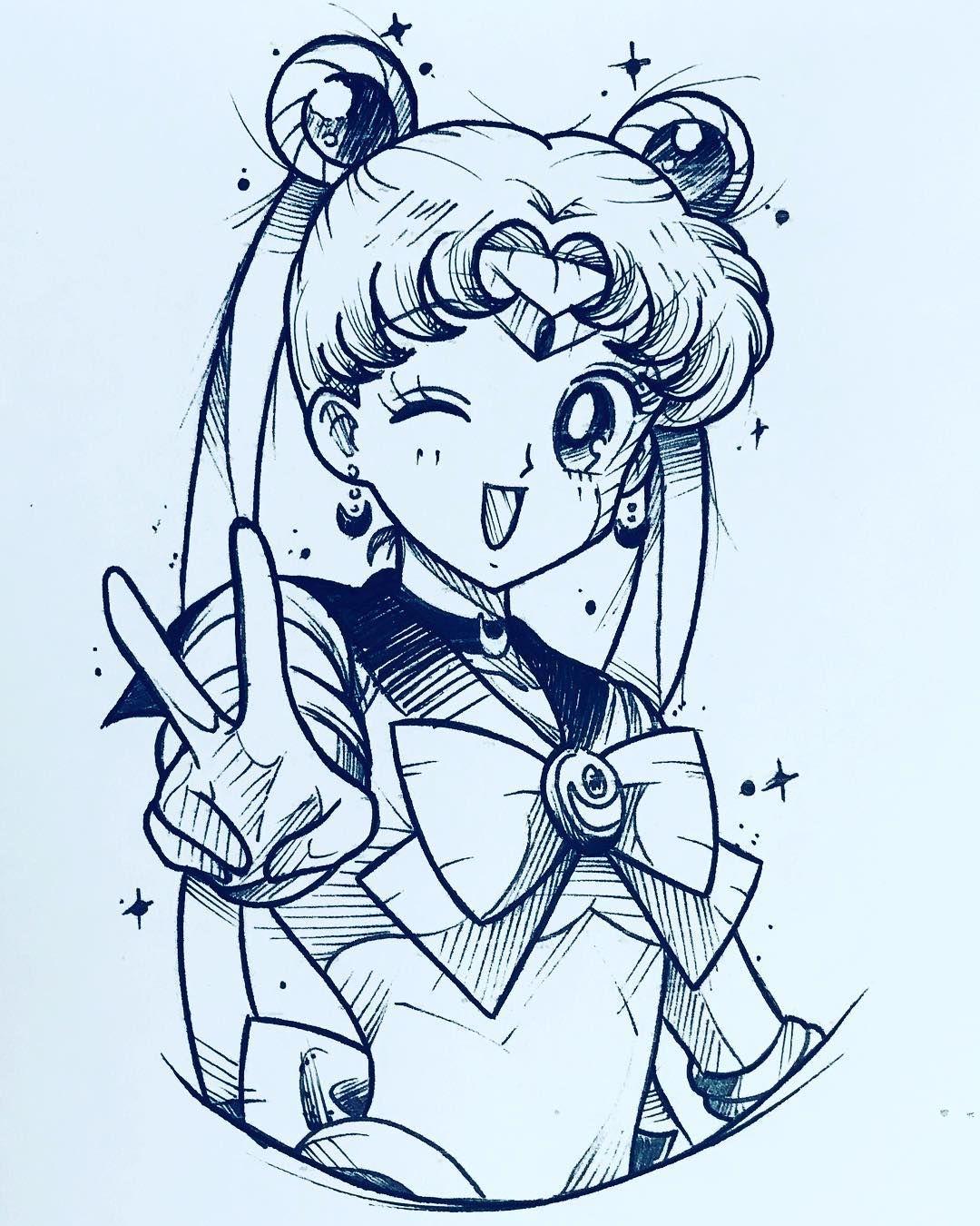 Insta Desenh0 Arts Sailor Moon Tattoo Sailor Moon Art Sailor Moon Wallpaper