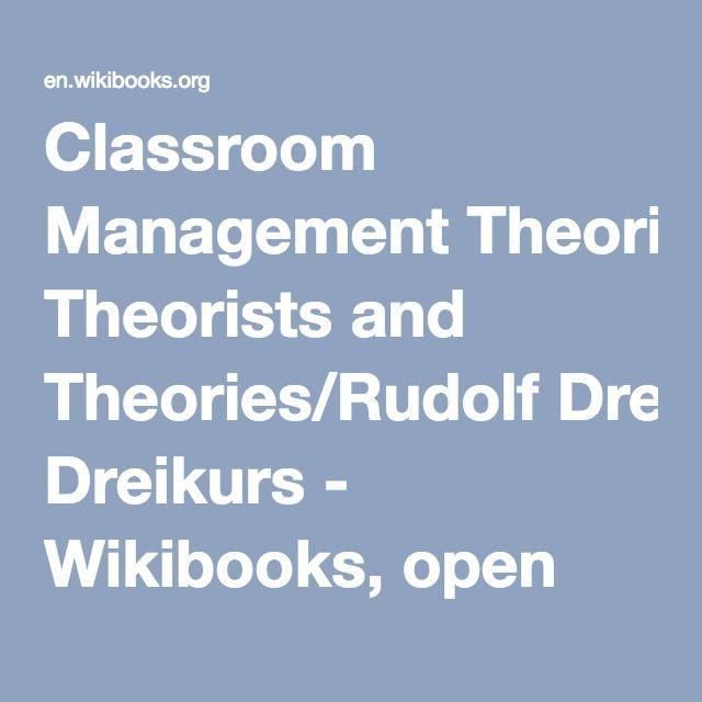 dreikurs theory