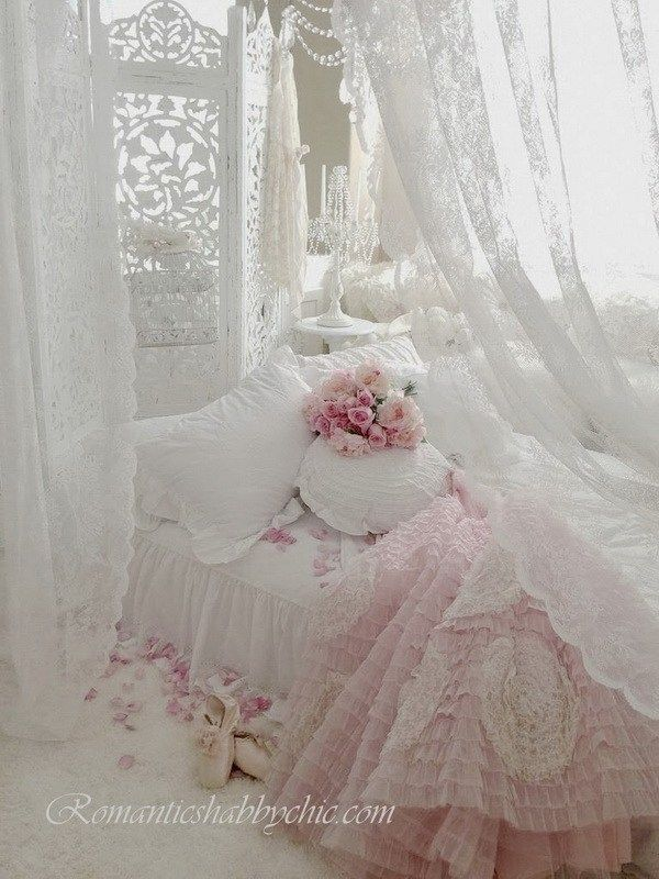 Photo of 33 Cute And Simple Shabby Chic Bedroom Decorating Ideas » EcstasyCoffee