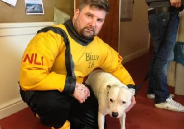 Kite Surfer and RNLI save dog swept out to sea...Good people still out there