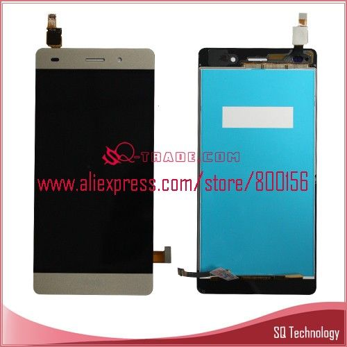Mobile Phone For Huawei P8 Lite Lcd And Touch Screen Assembly White Phone Technology