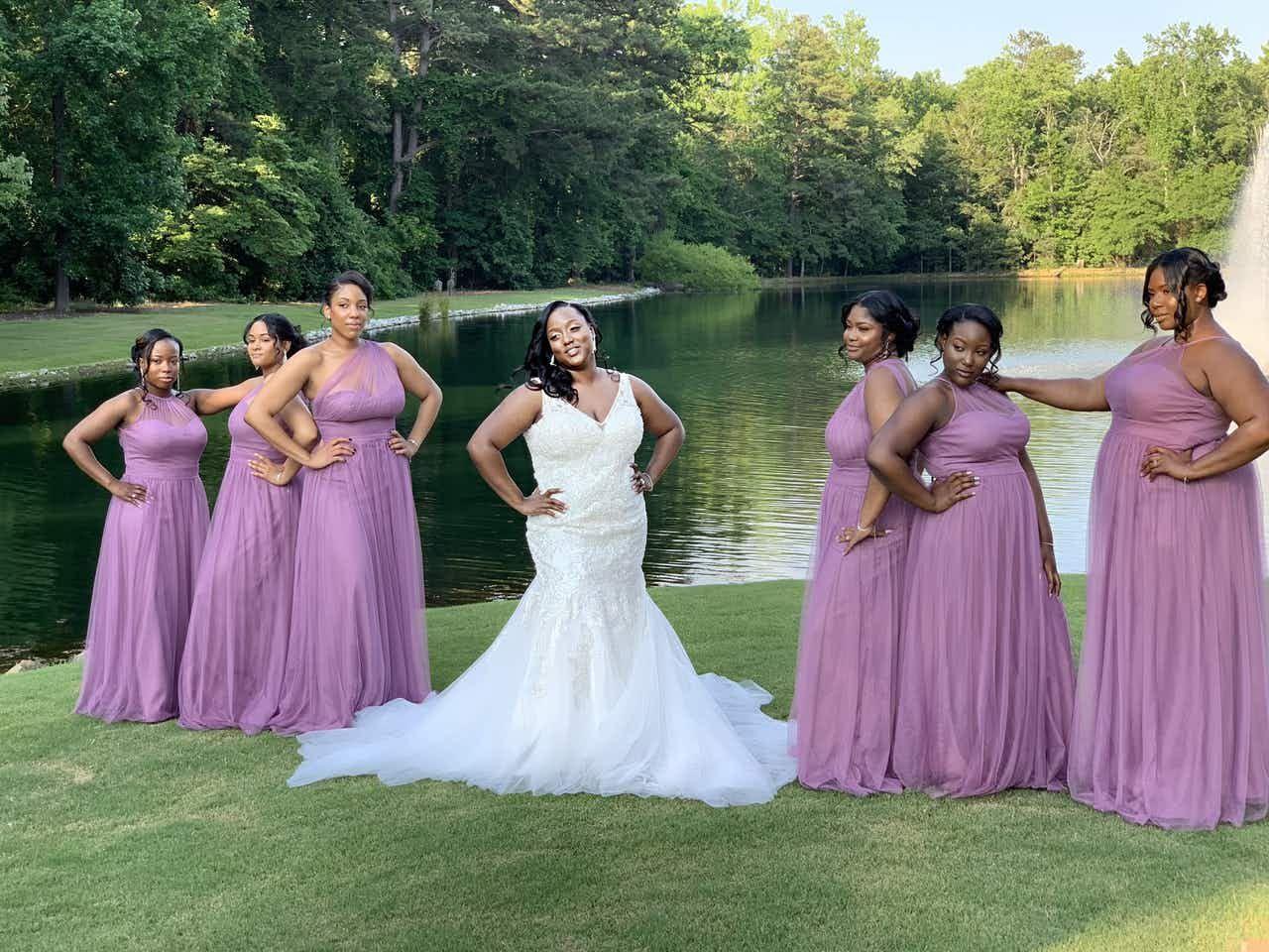 Blue White Wedding At Pristine Chapel Lakeside Blue White
