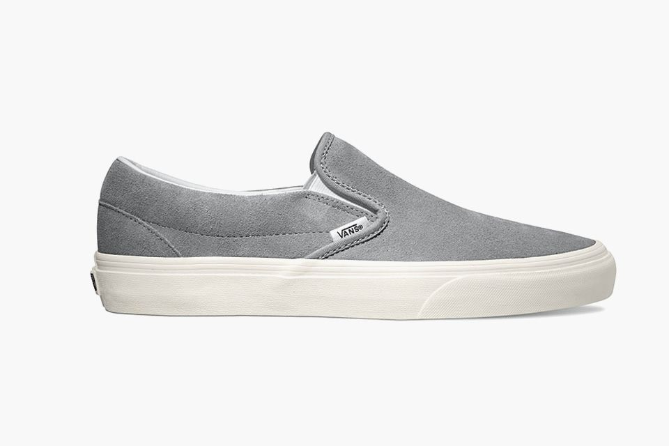 2e03dce067c8e7 Vans Remixes the Slip-On in Suede