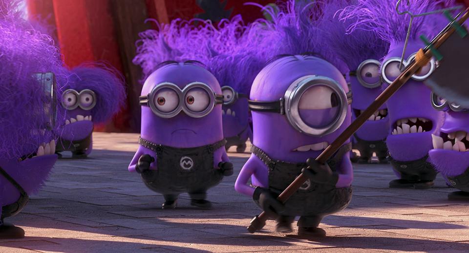 скромный картинка фиолетового миньона выросла такой яркой
