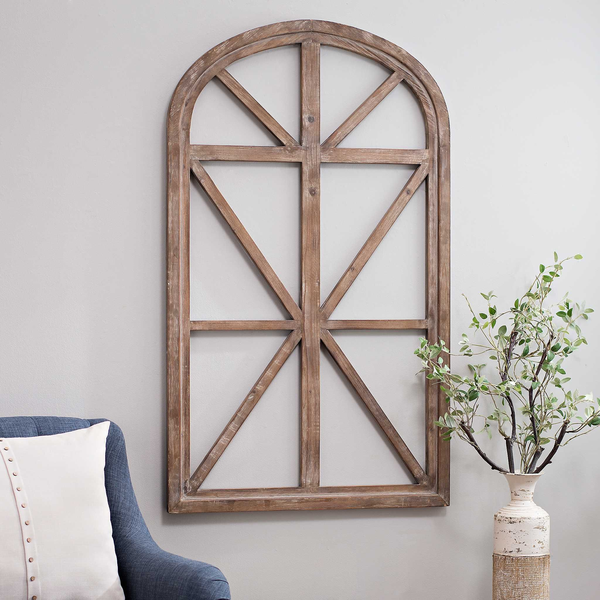 Natural Arch Door Frame Plaque Kirklands Arched Wall Decor Arched Doors Modern Farmhouse Decor