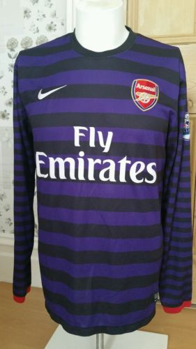 #Arsenal away shirt #2012- 2013 size #medium,  View more on the LINK: http://www.zeppy.io/product/gb/2/322227923831/