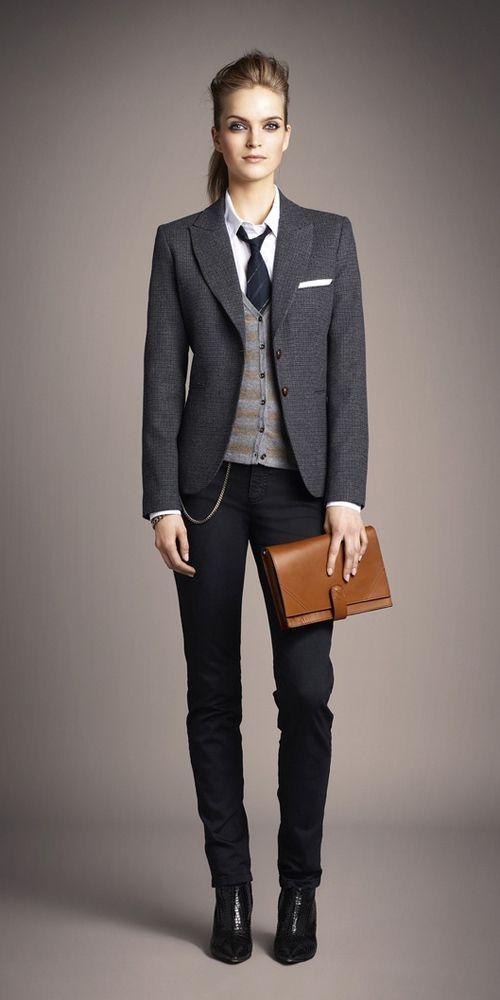 20 façons de porter le blazer | Elegant, Google and Woman