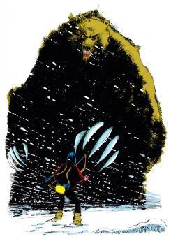 Demon Bear en New Mutants