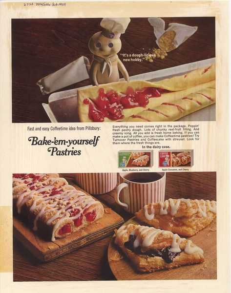 General Mills History Vintage Food Labels Vintage Dessert Pillsbury Doughboy