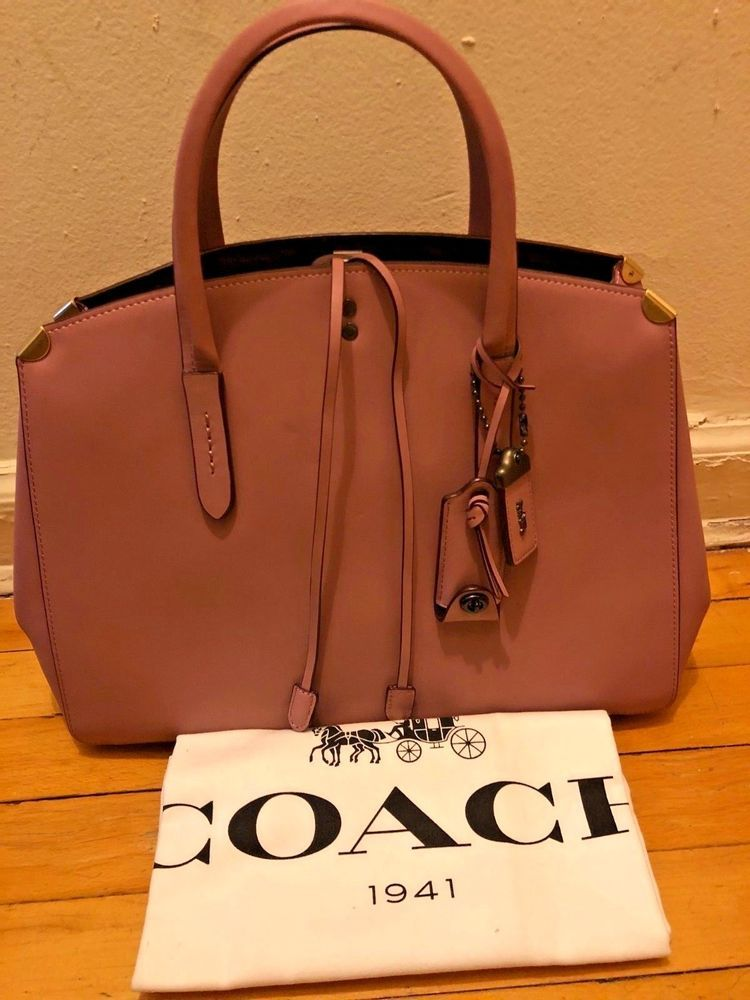 b84095a44d2c Coach 1941 Cooper Carryall Bag in Dusty Pink Brand New