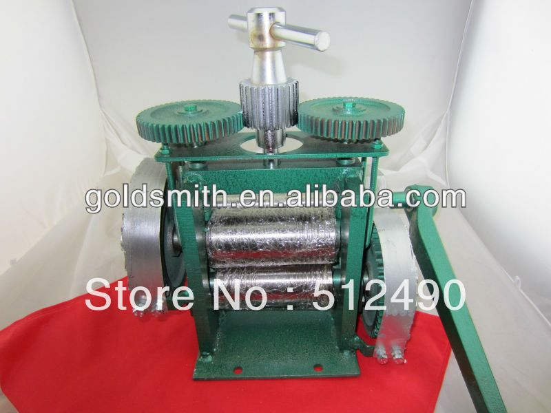 Rolling Mill Hand Operate Goldsmith Tools Atelier Et