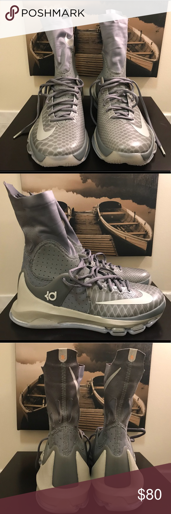 4a8907384275 ... discount code for nike kd 8 elite size 8.5 sneaker tan and grey size 8.5  new