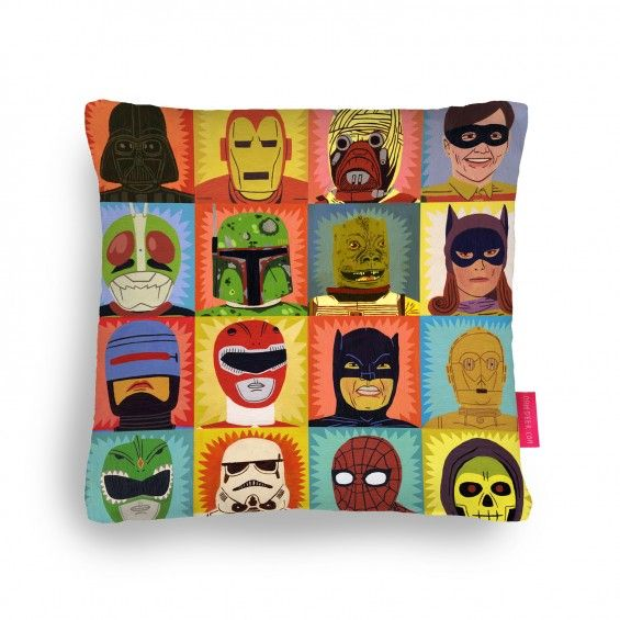 Heroes and Villains Cushion | Ohh Deer
