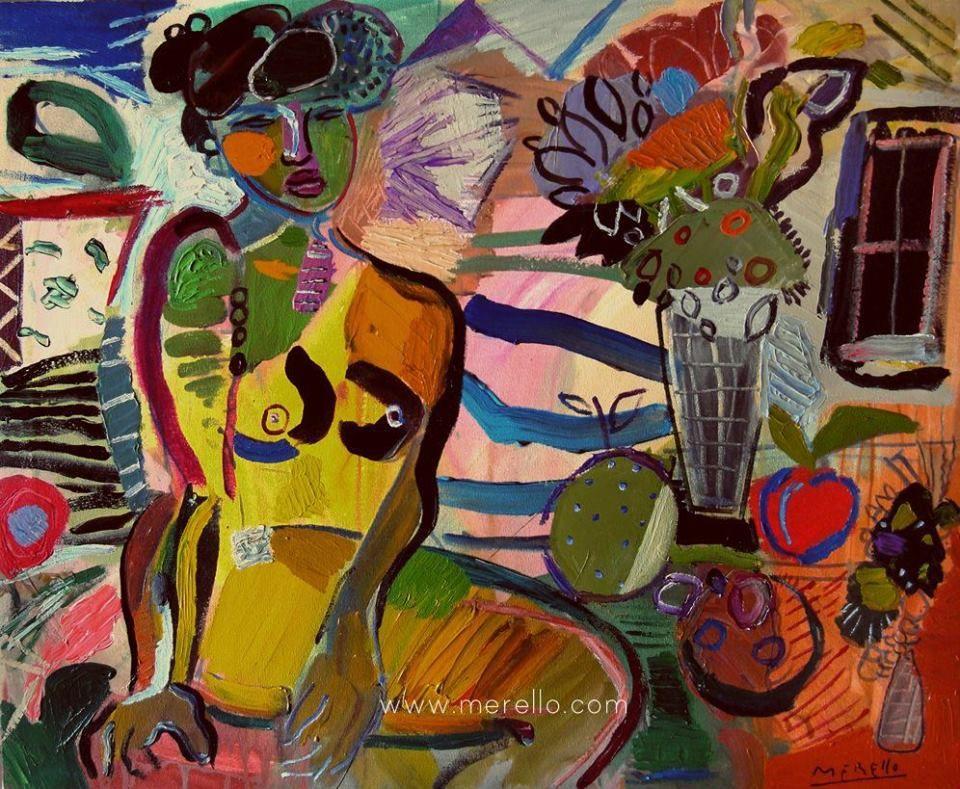 Homenaje a paul gauguin jose manuel merello la modelo for Acheter art contemporain