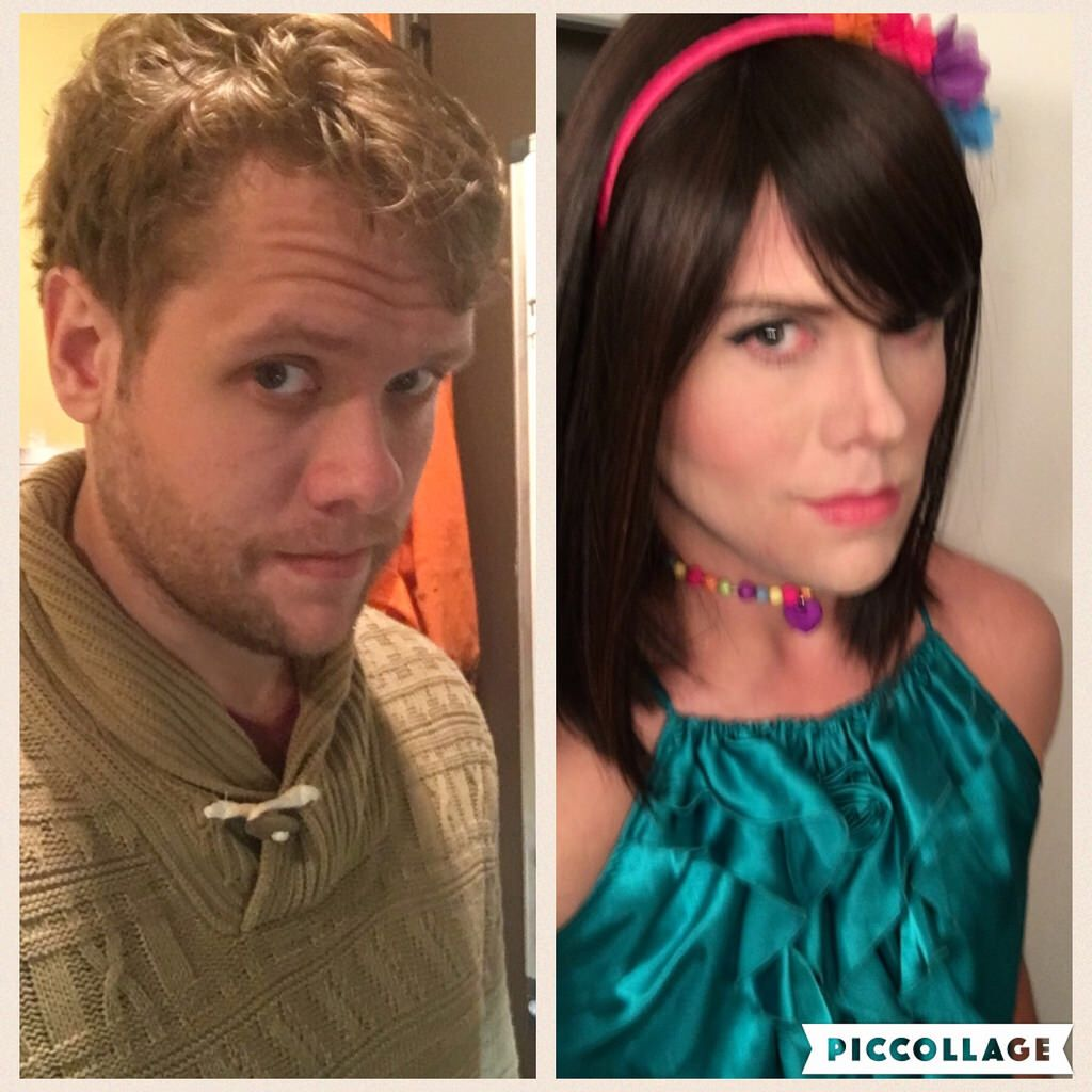 Male to female trans before and after-6751