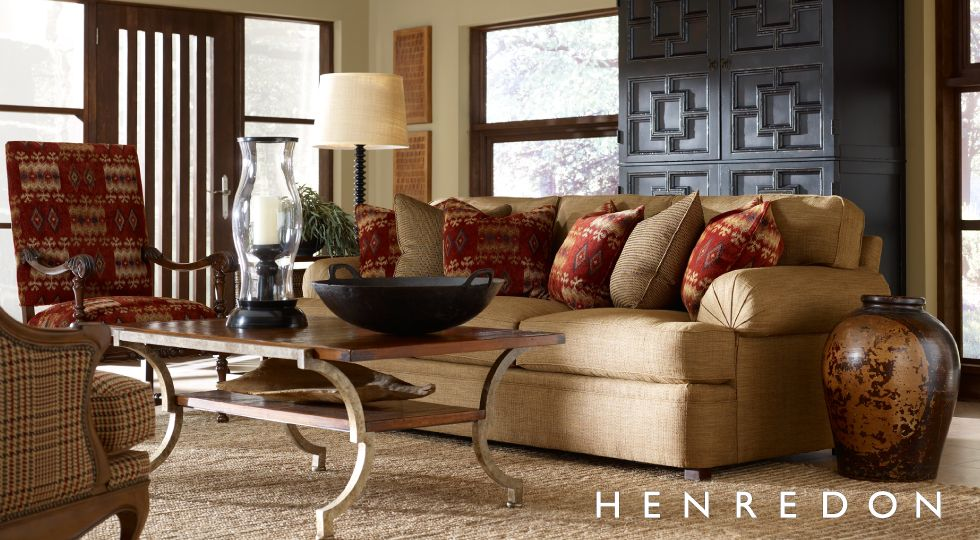 Henredon Fireside Standard At Home Furniture Store Living Room