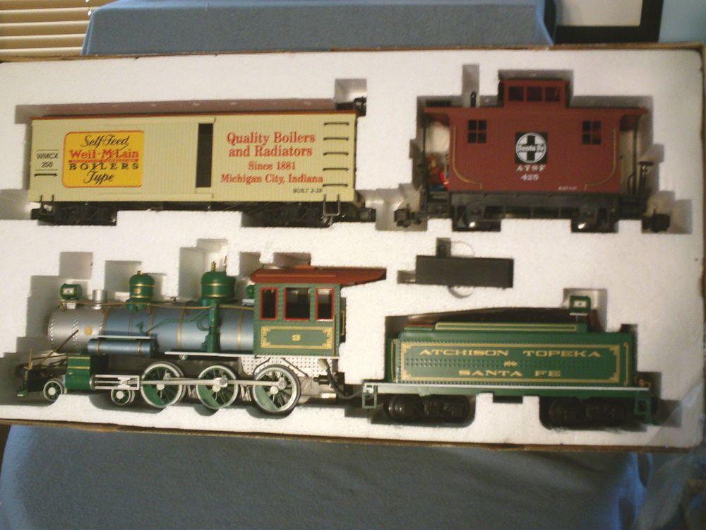 Bachmann Weil McLain Boilers Big Hauler G Scale Train Set Contractor ...