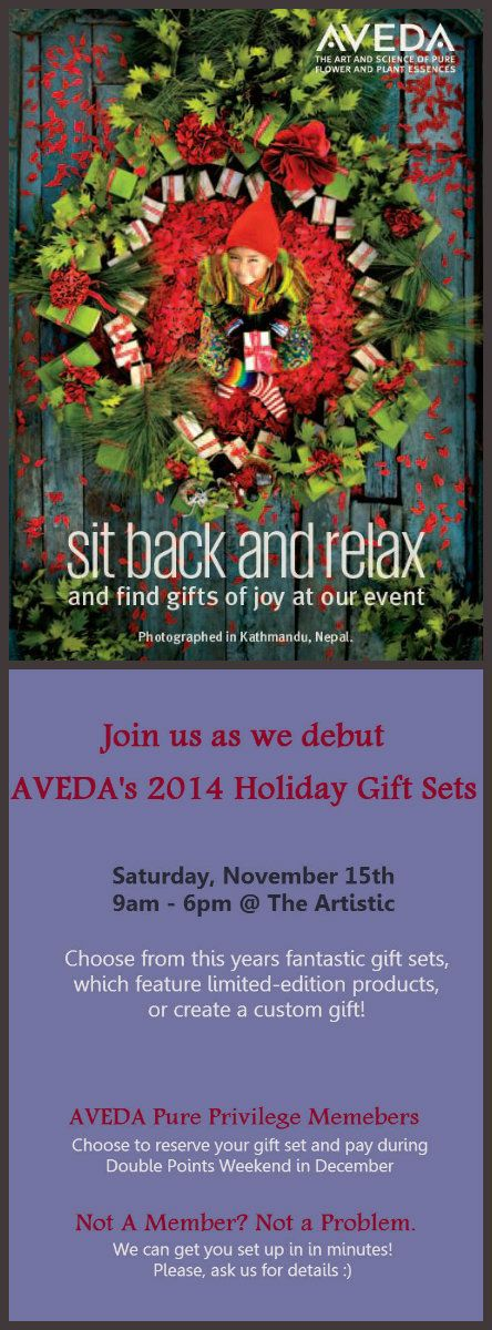 Deets on our #AVEDA #HolidayGiftSetDebut Event! #beautyblog