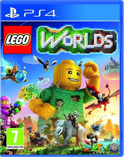 LEGO Worlds PS4 | CZ | Ps4 games, Lego worlds, Xbox