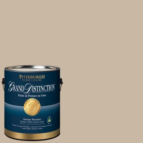 Summer Suede Paint Color In Pittsburgh Grand Distinction Interior Latex Paint Available At Menards