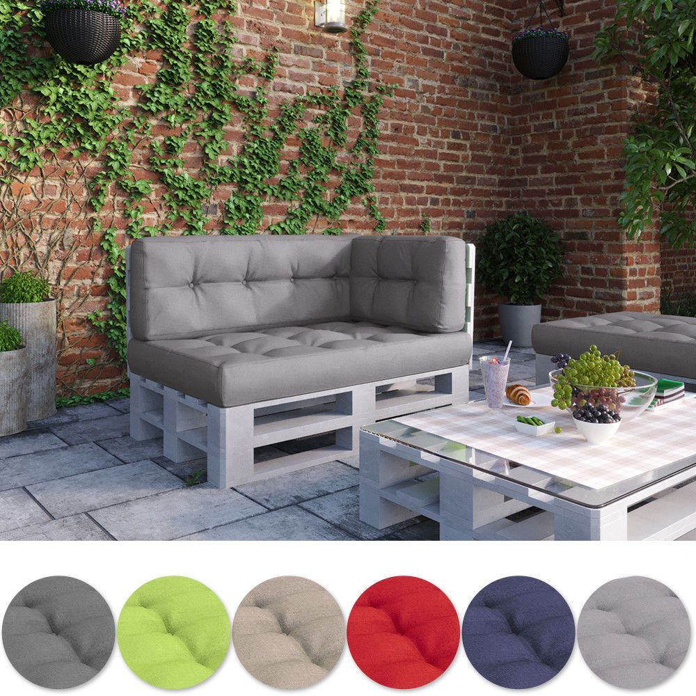 Details About Pallet Cushion Bench Sofa Garden Furniture Pillow Diy Patio High Quality Pallet Cushions Furniture Bench Cushions