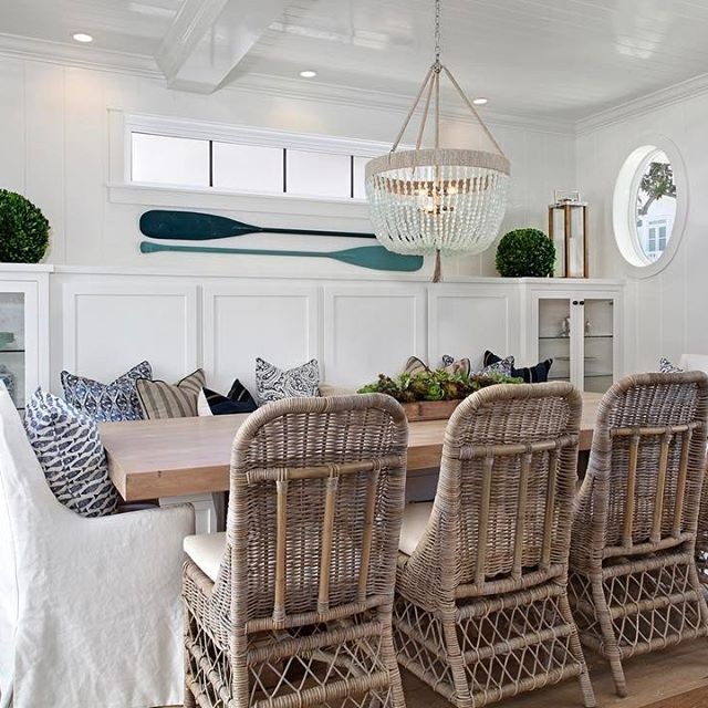 Happy Sunday! Looking back on one of our favorite dining rooms from #projectpeninsulapoint ☀️