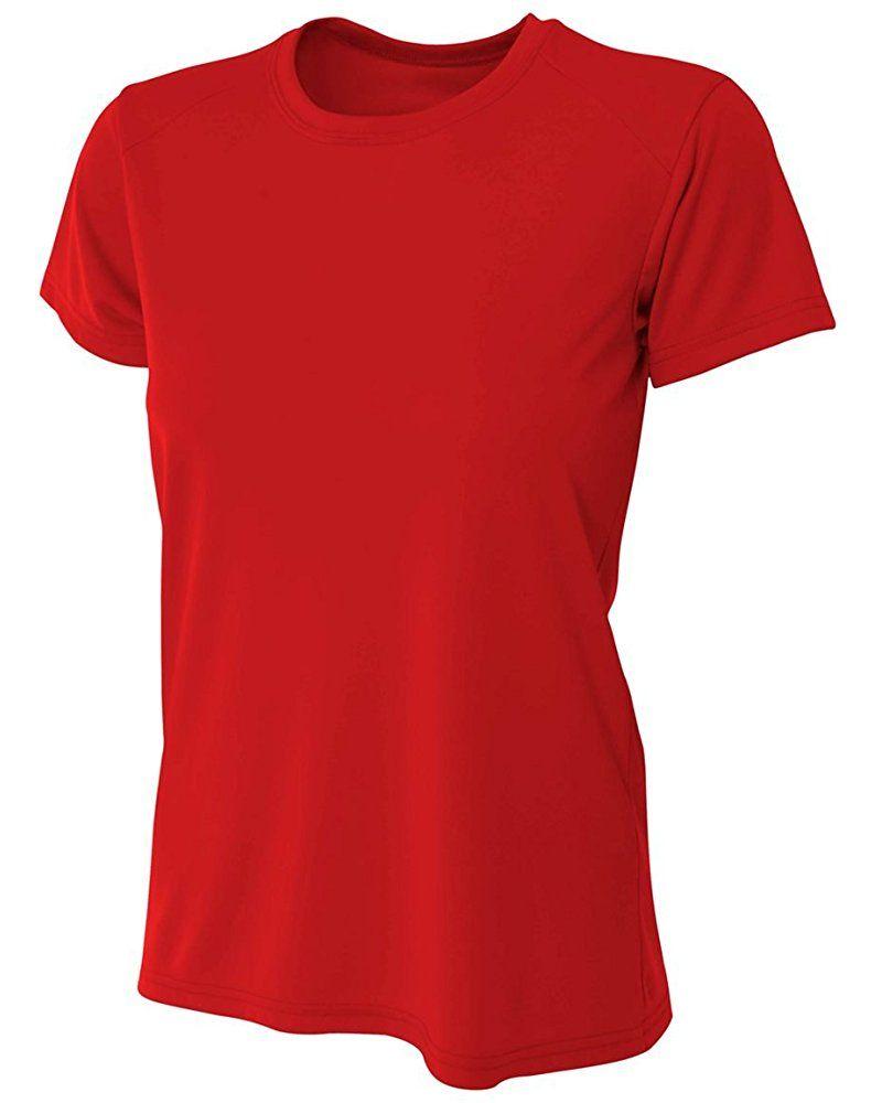 A4 Women S Cooling Performance Crew Short Sleeve Tee Short
