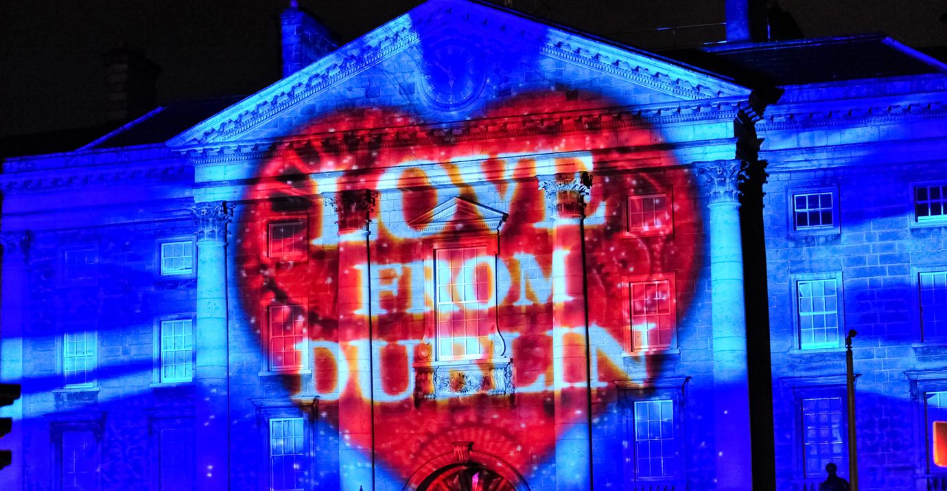 See what happened at NYE Dublin the first big Gathering