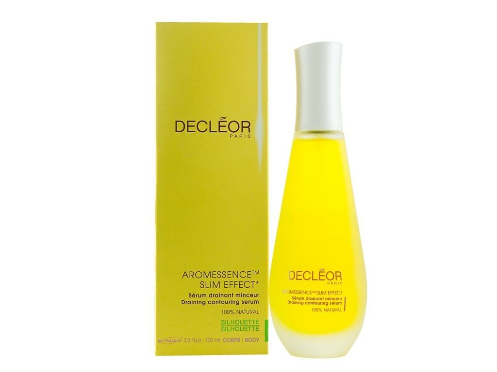 decleor aromessence slim effect draining contouring serum for unisex, 3.3 ounce Medicated Lip Balm