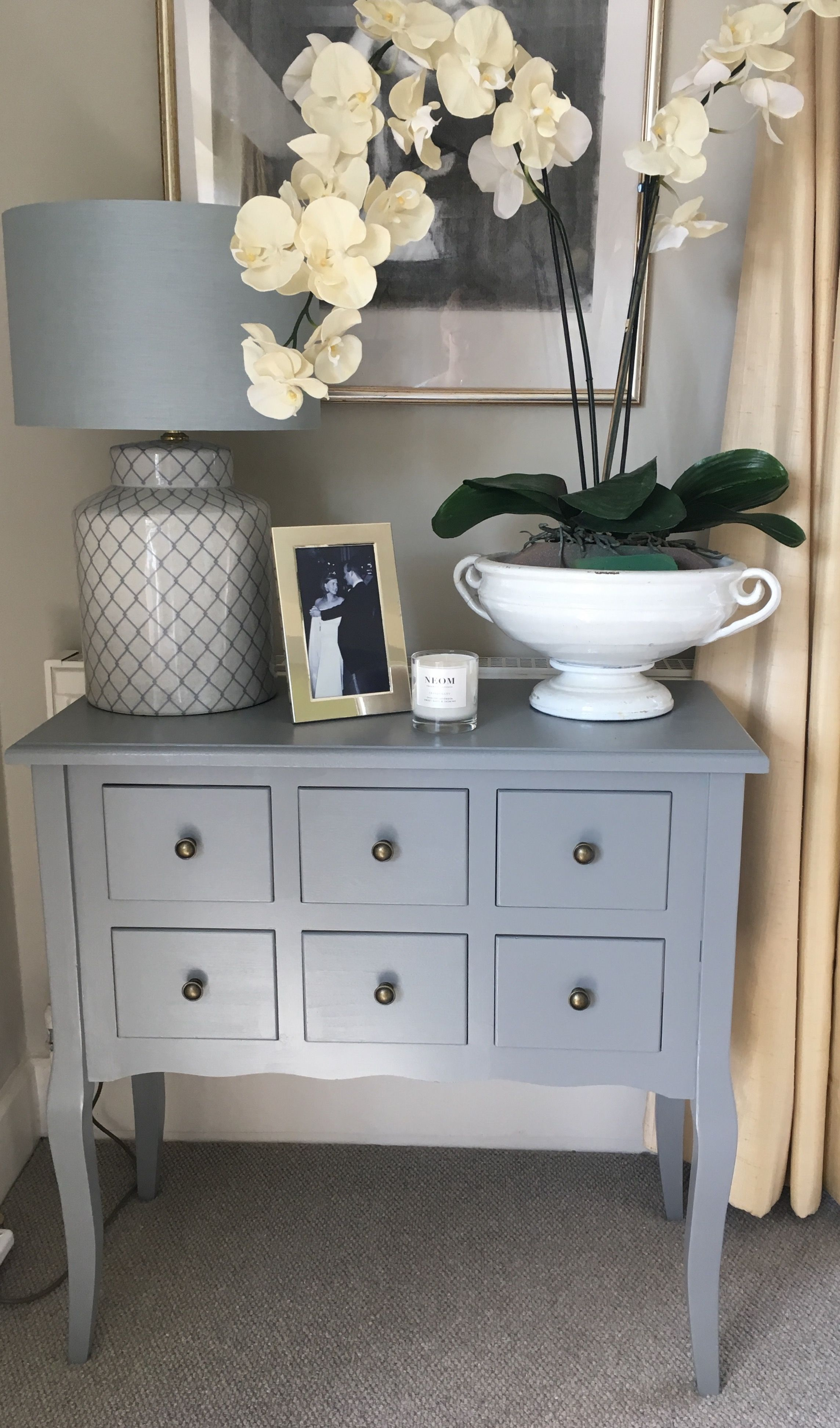 Best Newly Painted Console Farrow And Ball Plummet Room 400 x 300