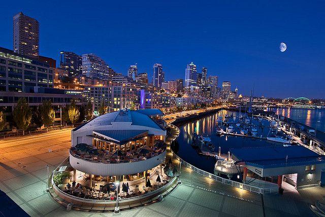 Seattle Waterfront by Deej6, via Flickr