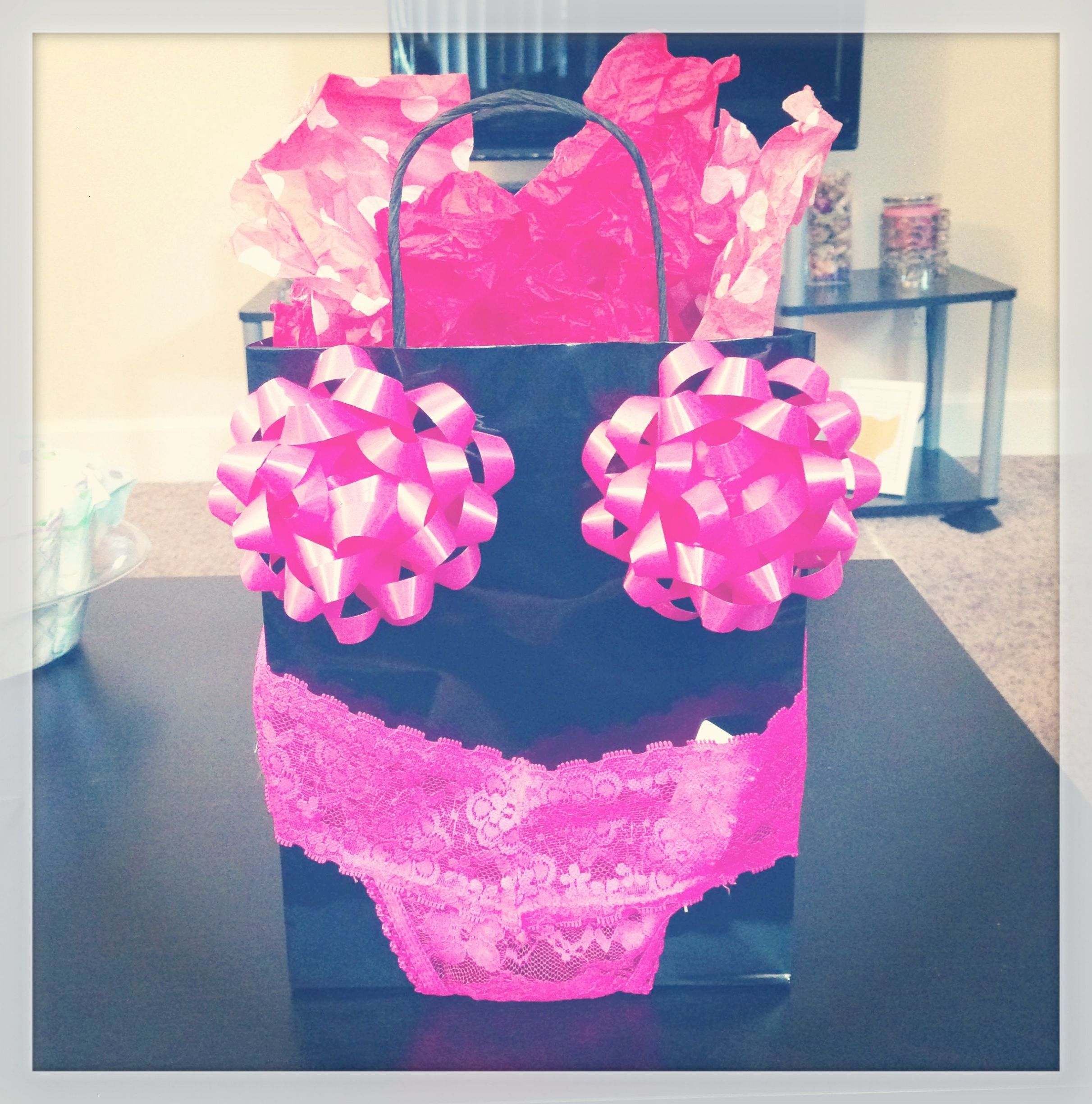 Bachelorette Party Gift Or Great Gift Wrap Idea For A