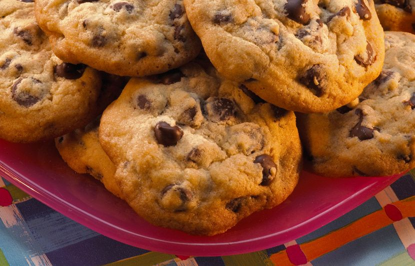 Try this Chocolate Chip Cookies made with HERSHEY'S