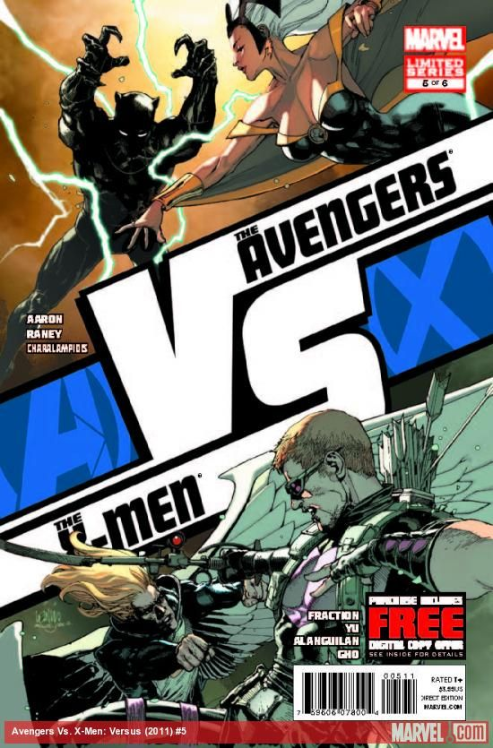 Avx Vs 5 The Premier Tie In To Avengers Vs X Men Marches On Black Panther Vs Storm Angel Vs Hawkeye Comics Comic Book Artwork Black Panther